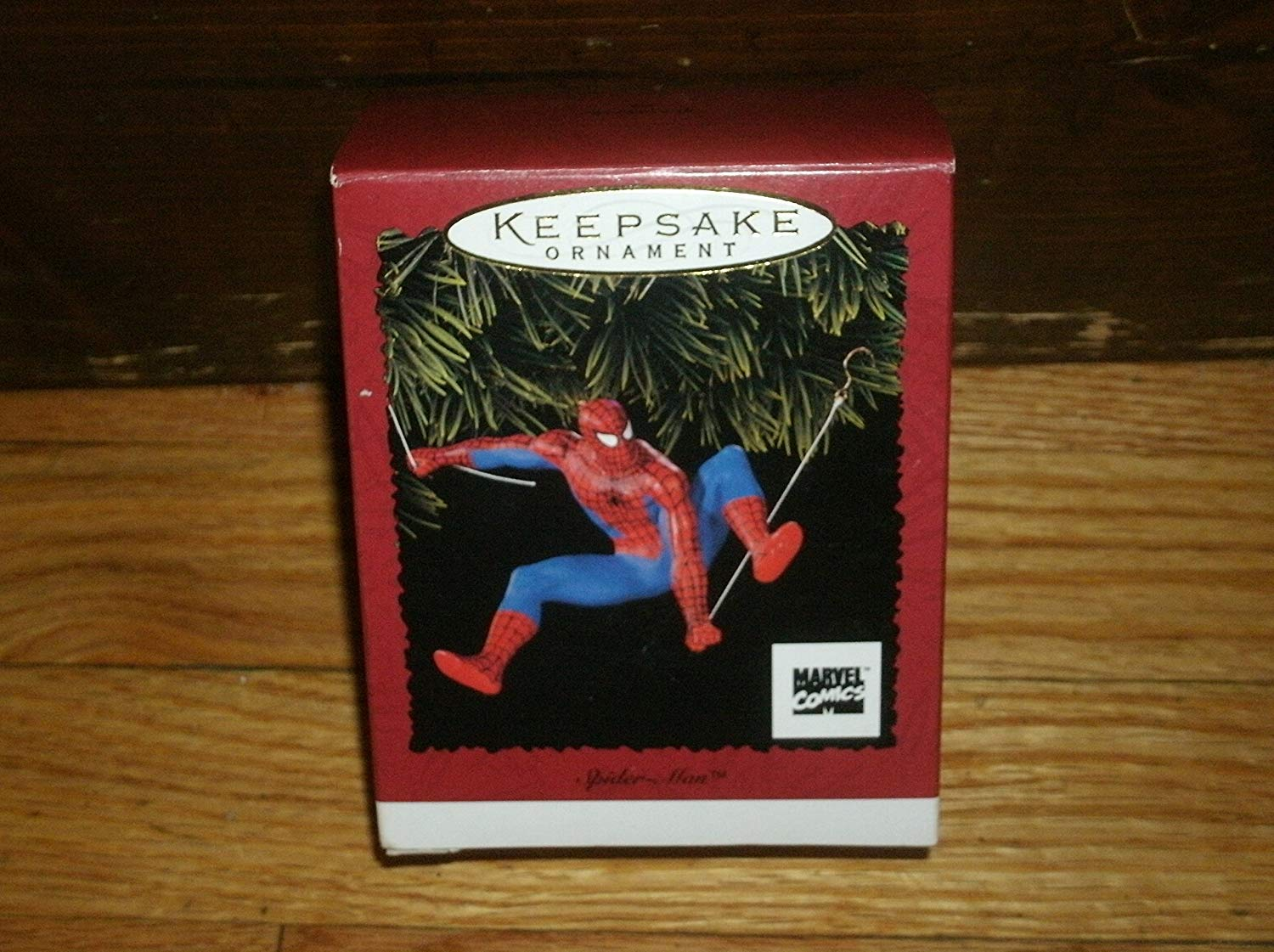 first spidey ornament