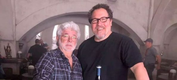 george lucas and jon favreau