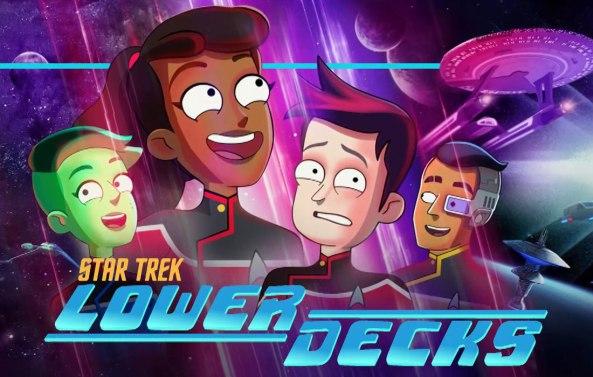 Trek Lower Decks poster